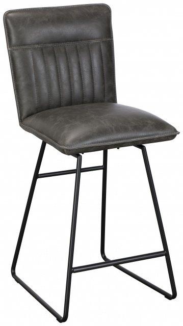 Swell Cooper Bar Stool Grey By Baker Ibusinesslaw Wood Chair Design Ideas Ibusinesslaworg