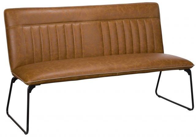 Cooper Dining Bench (Tan) by Baker