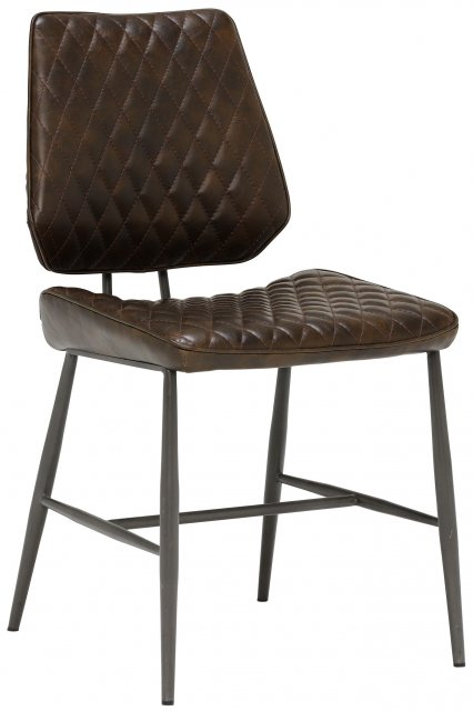 Dalton Dining Chair (Brown) by Baker