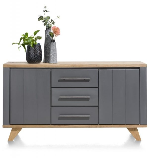Jardin 160cm Sideboard (Anthracite) by Habufa