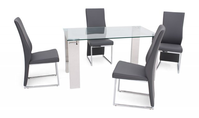 Dakota 140 X 80cm Dining Table by Torelli