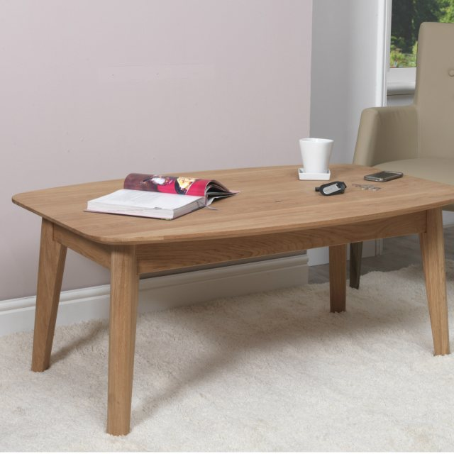 Nordic Ellipse 120cm Coffee Table (Type 13) by Baltic