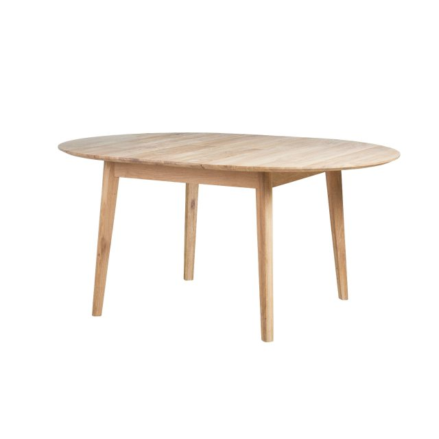 Nordic 120-160cm Extending Round Dining Table (Type 17) by Baltic