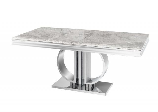 Donatello 180cm Marble Dining Table by Torelli