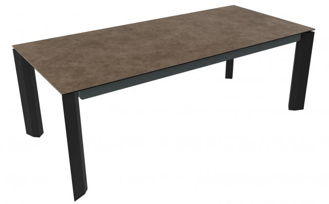 Delta 220cm-280cm Extending Dining Table (CS4097-R-220) by Calligaris