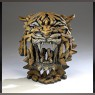 Tiger Bust (Bengal finish) - Edge Sculpture