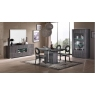 Grigio 4 Door Sideboard with LED by San Martino