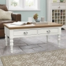 Hampstead Two Tone Coffee Table (Turned Leg)
