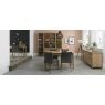 Bergen Oak 4-6 Seater Extension Dining Table