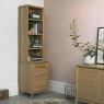Bergen Oak Narrow Top Unit