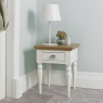 Hampstead Two Tone Lamp Table (Turned Leg)
