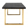 Blackbone 220cm Dining Table - Gold Collection