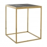 Blackbone Side Table - Gold Collection