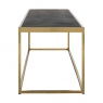 Blackbone 160 x 40cm Coffee Table - Gold Collection