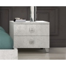Alexa 2 Drawer Bedside Chest by San Martino