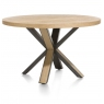 Ovada 130cm Round Dining Table by Habufa