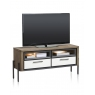 Shirley 130cm TV Lowboard (with LED Lighting) by Habufa