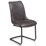 Armin Dining Chair (Anthracite) by Habufa