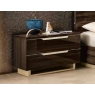 Smart Maxi Bedside Chest (Walnut) by CamelGroup