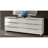 Smart 6 Drawer Dresser Chest (White) by CamelGroup