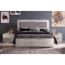 Diana 4ft 6' Double Bedframe (Upholstered) by Euro Designs