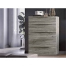 Diana 5 Drawer Tall Chest by Euro Designs