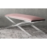 Vertue Upholstered Bench (Pink) by Torelli