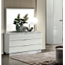 Onda White 3 Drawer Dresser