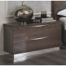 Platinum 2 Drawer Maxi Bedside