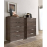 Platinum 5 Drawer Tall Chest by Camel Group