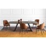 Icaro 250cm Non-Extending Ellipitcal Dining Table (CS4115-FB-250) by Calligaris