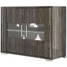 Grigio 2 Door Sideboard with LED Lighting by San Martino