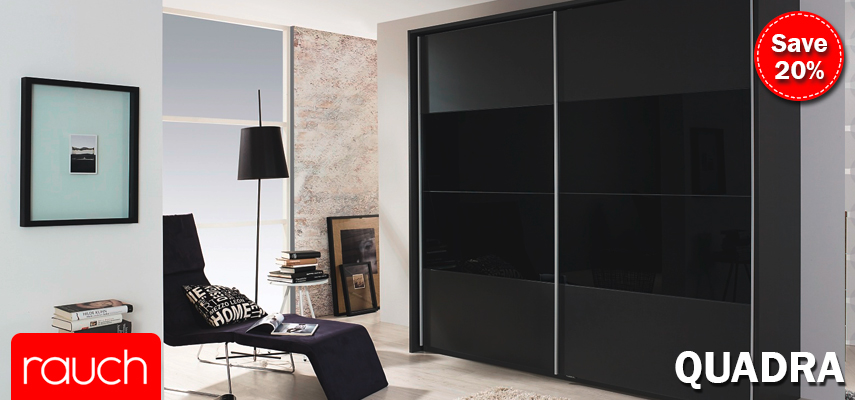 Rauch Quadra Wardrobe and Bedroom