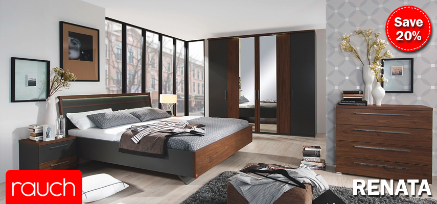 Rauch Renata Wardrobe and Bedroom